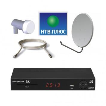Комплект Спутникового оборудования НТВ+ HD ресивер Sagemcom DSI87-1 с антенной