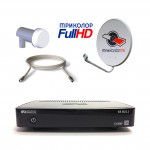 Комплект Спутникового оборудования Триколор ТВ HD GS B211 с антенной и картой на один год