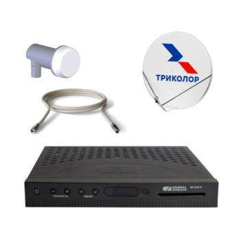 Комплект Спутникового оборудования Триколор ТВ HD GS E212 с антенной и картой на 180 дней