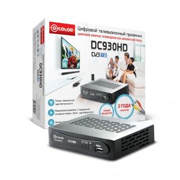 Ресивер DVB-T2 D-COLOR DC930HD