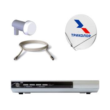 Комплект Спутникового оборудования Триколор ТВ HD GS-8308 с антенной