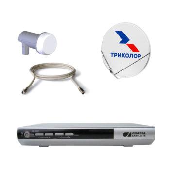 Комплект Спутникового оборудования Триколор ТВ HD 8307 с антенной и картой 3 года