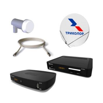 Комплект Спутникового оборудования Триколор ТВ HD GS E501/GS C591 с антенной и конвертером